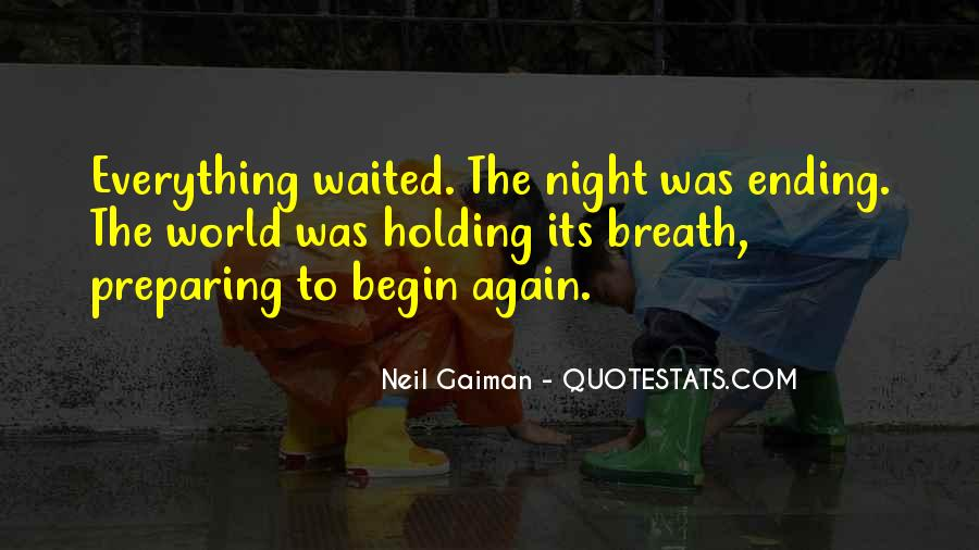 To Begin Again Quotes #94850