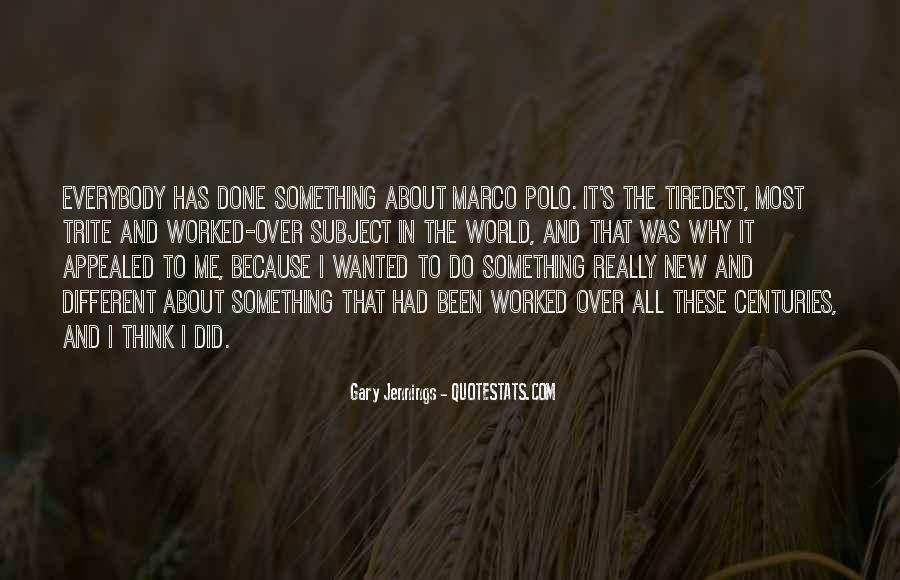 To Do Something New Quotes #108059