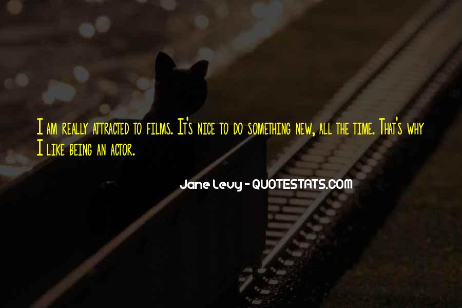 To Do Something New Quotes #97562