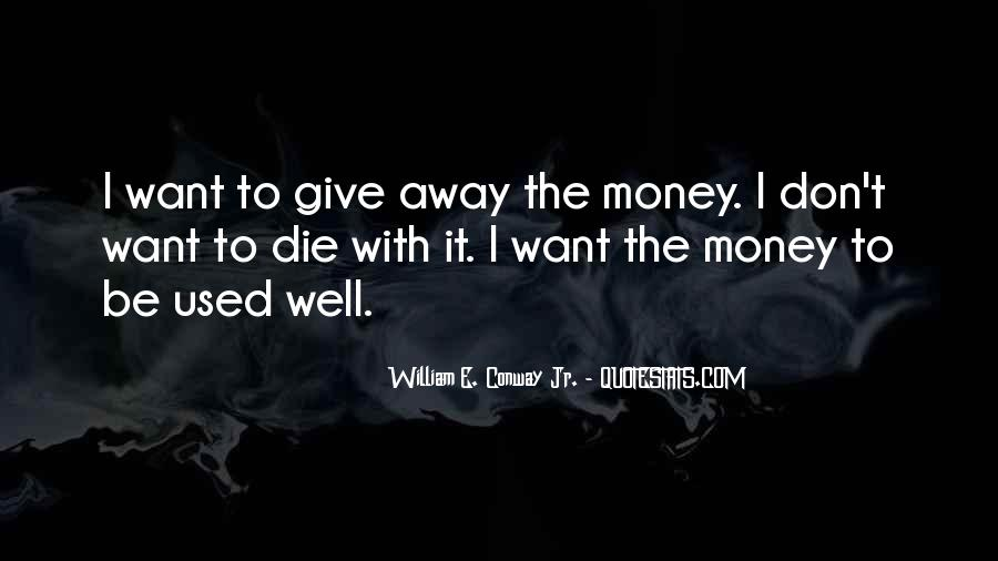 To Give Away Quotes #122820