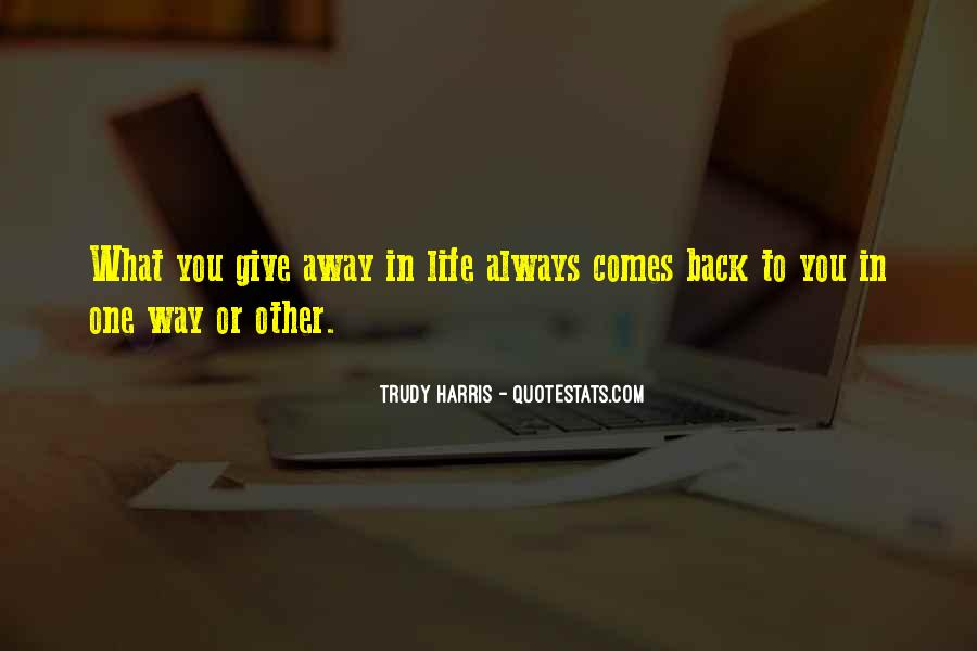 To Give Away Quotes #135751