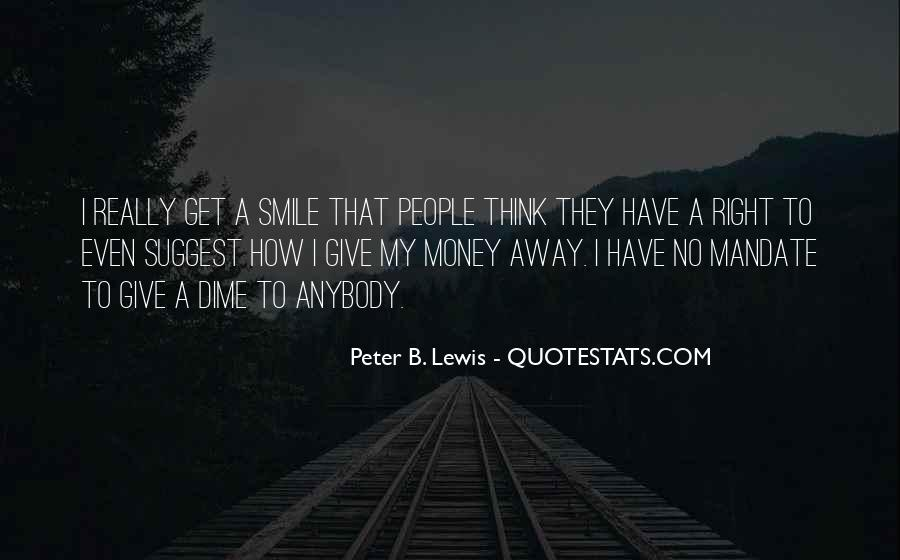 To Give Away Quotes #26870