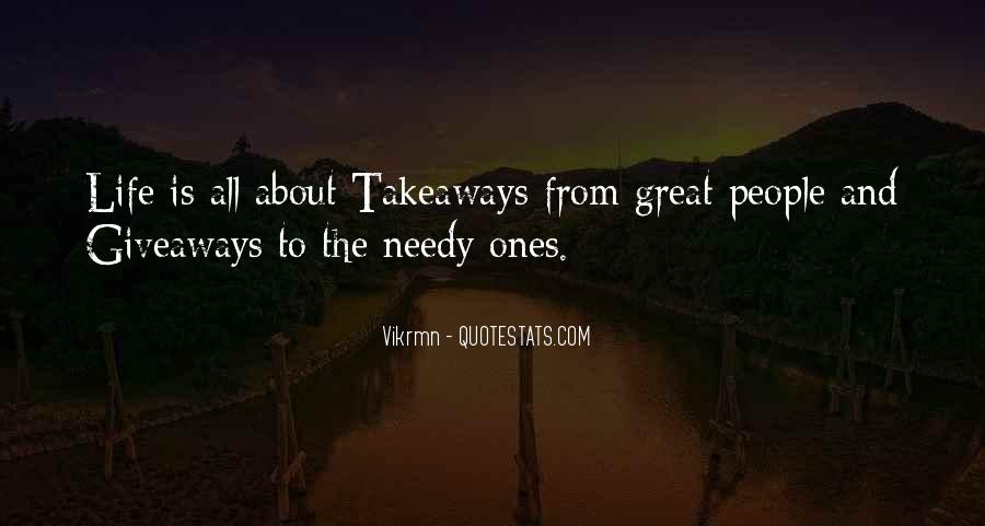 To Give Away Quotes #47302