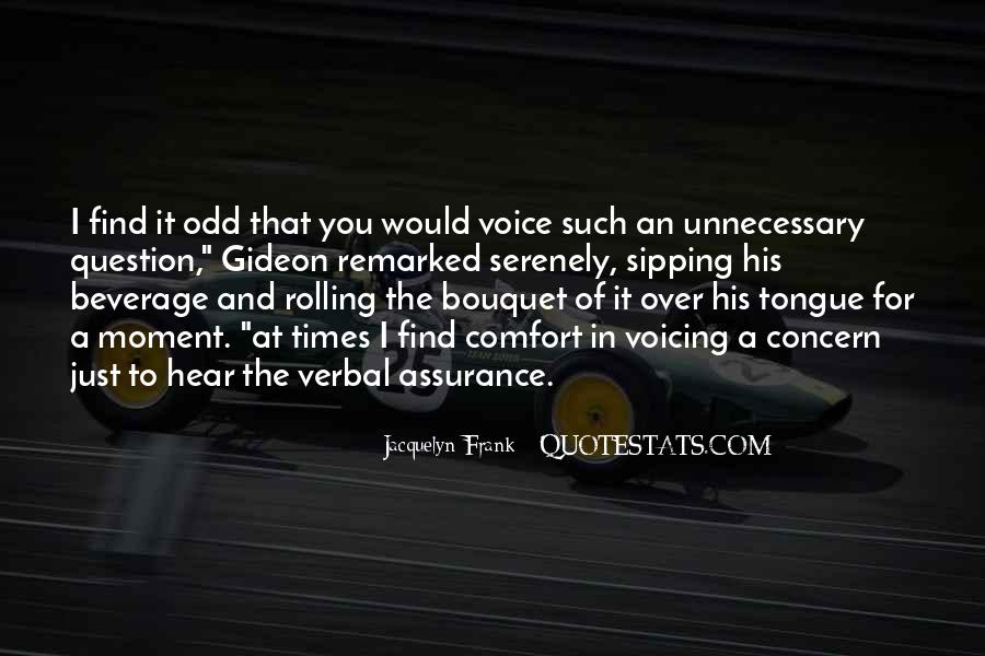 To Hear His Voice Quotes #133332