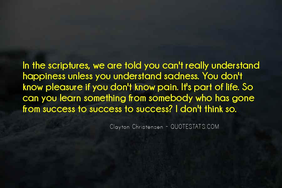 To Know Success Quotes #121990