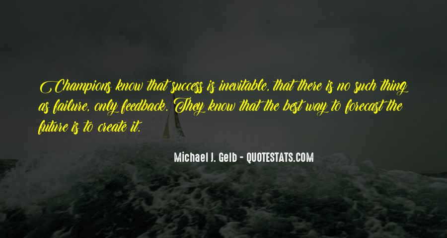 To Know Success Quotes #163694