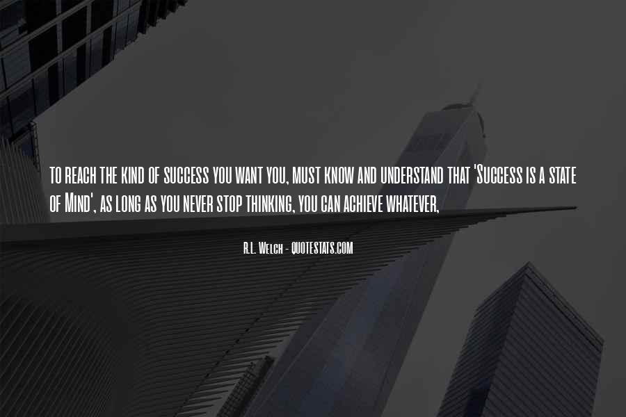 To Know Success Quotes #203985