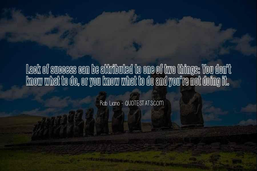 To Know Success Quotes #251123