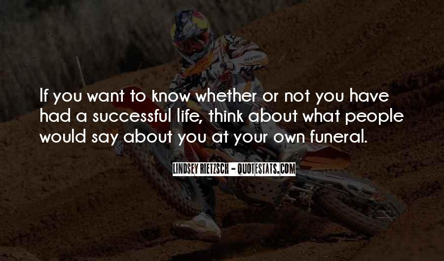 To Know Success Quotes #328119