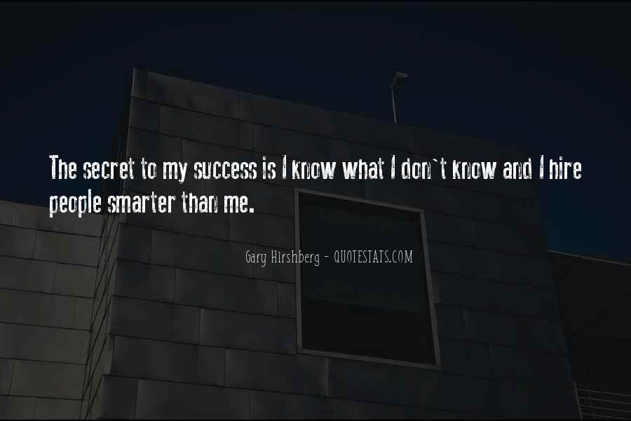 To Know Success Quotes #394087