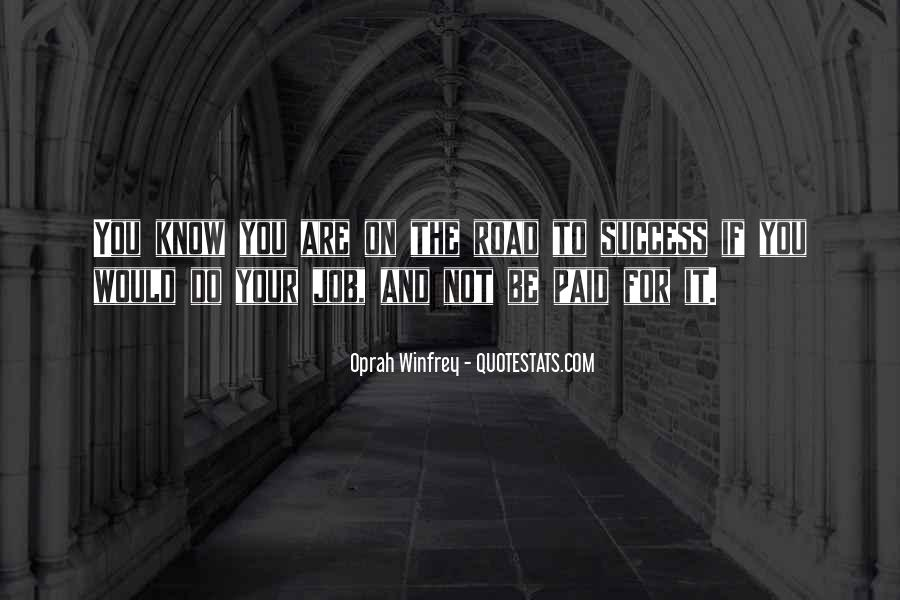 To Know Success Quotes #401479