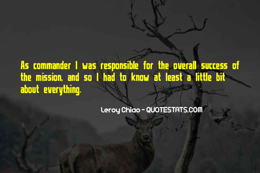To Know Success Quotes #419386