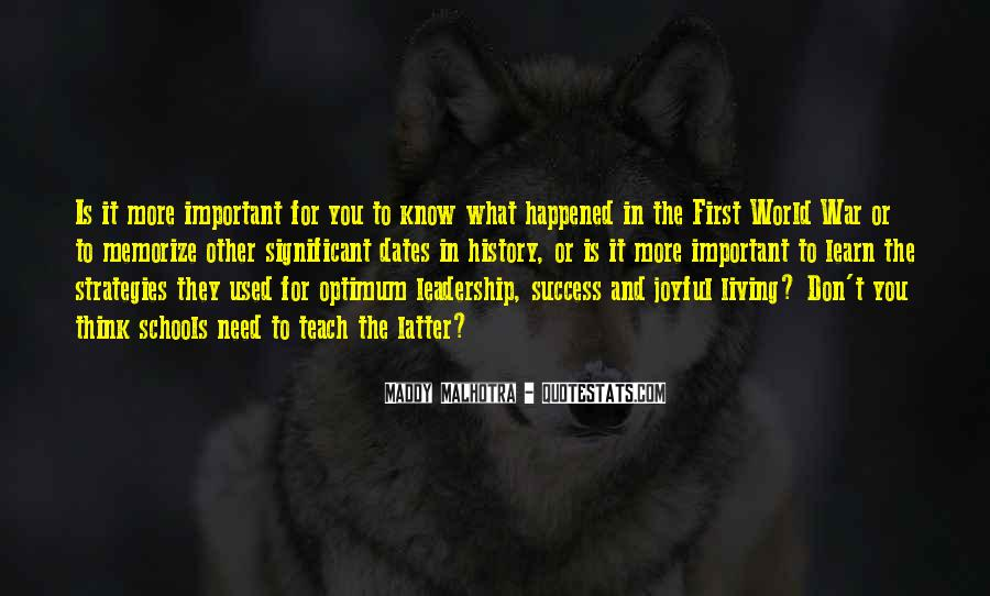 To Know Success Quotes #431782