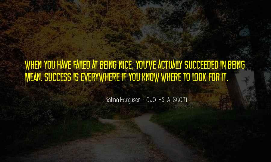 To Know Success Quotes #474992