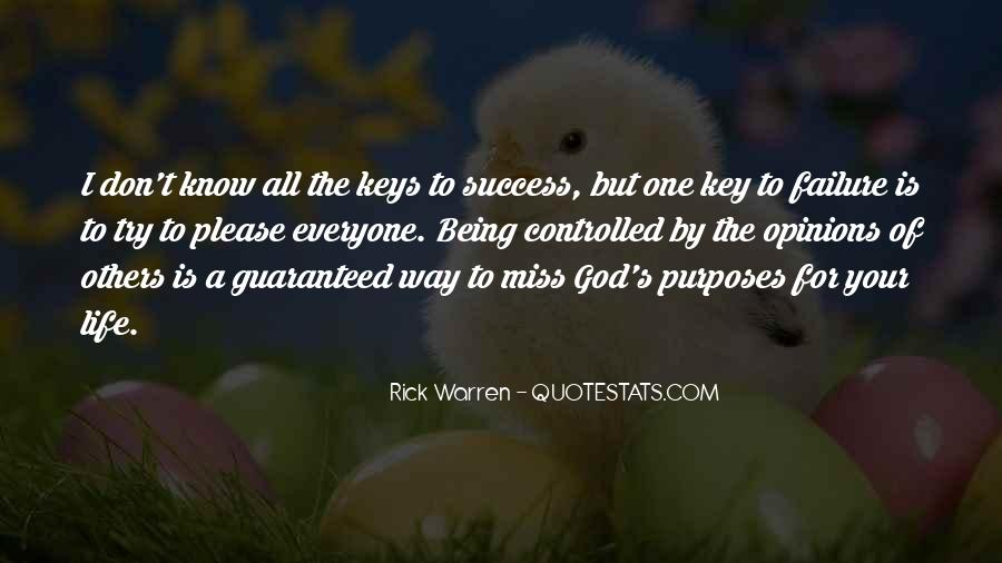 To Know Success Quotes #505867