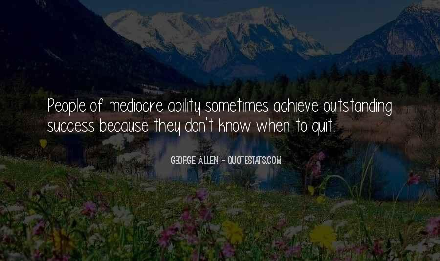 To Know Success Quotes #509335