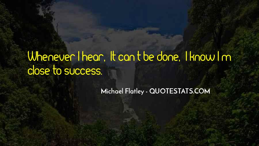 To Know Success Quotes #512130