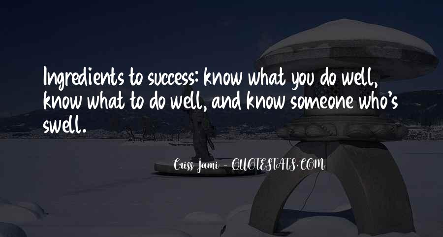 To Know Success Quotes #77037