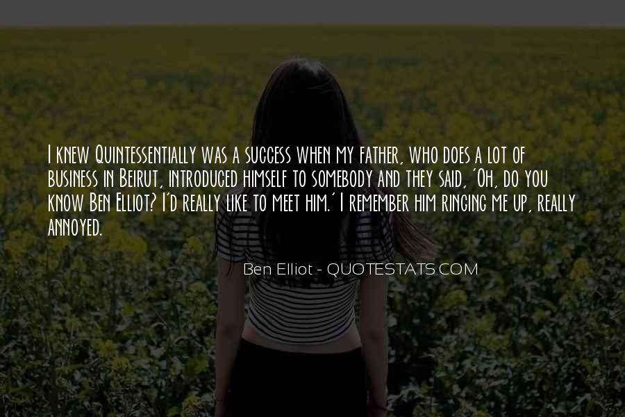 To Know Success Quotes #95445
