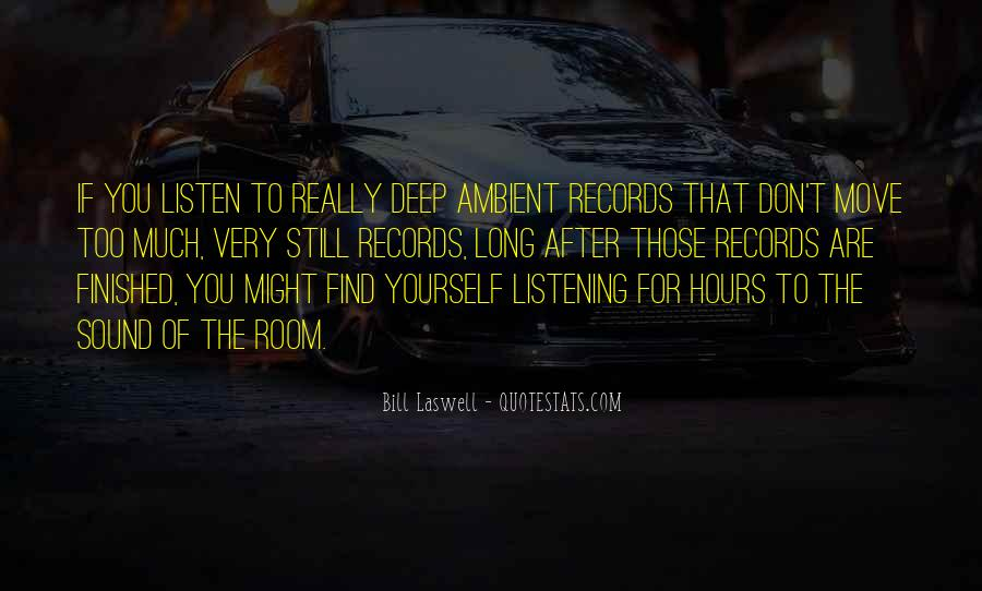 To Listen Quotes #12073