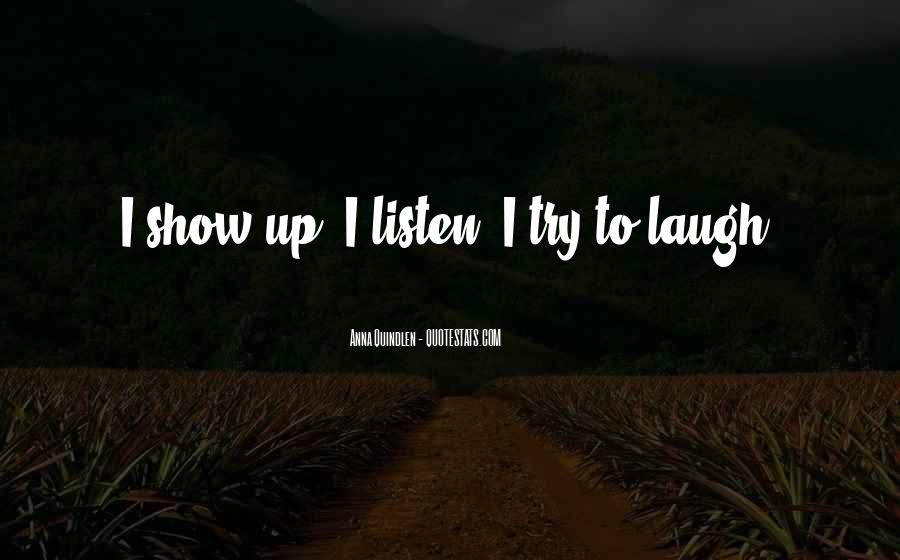 To Listen Quotes #13580