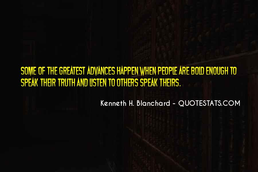 To Listen Quotes #7779