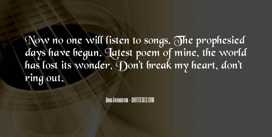 To Listen Quotes #8014