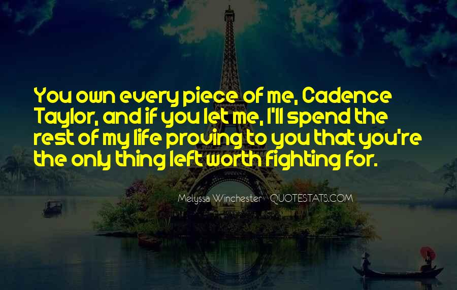 To Love Of My Life Quotes #154126