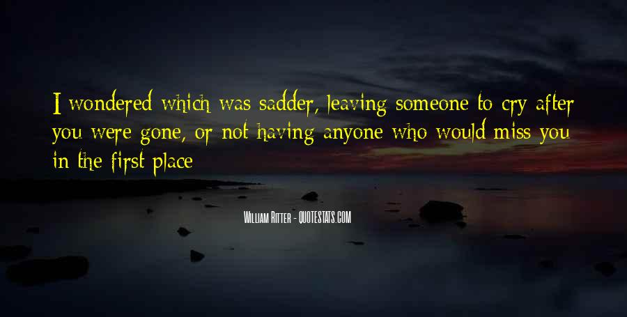 To Miss Someone Quotes #193685