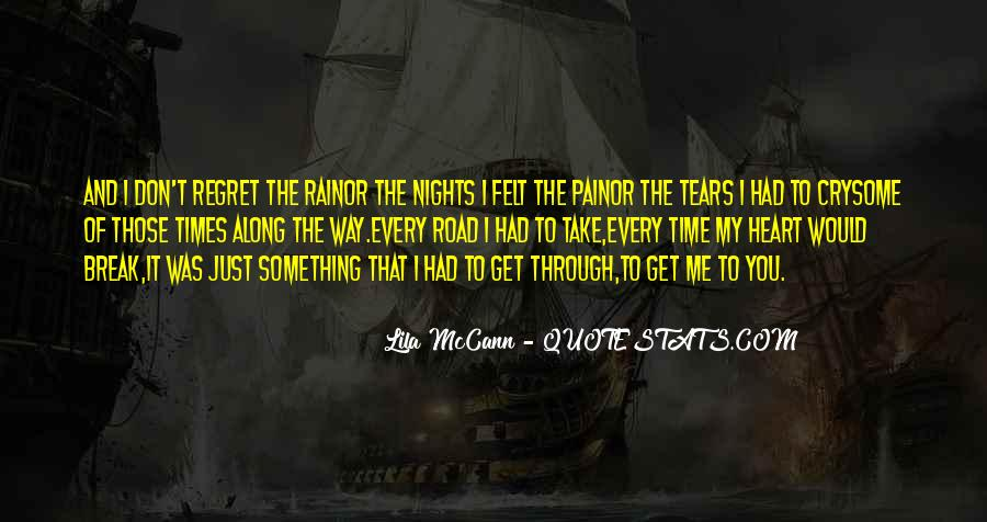 To Those Nights Quotes #1778260