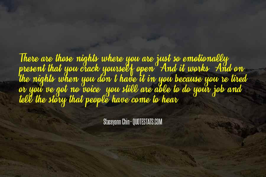To Those Nights Quotes #193332