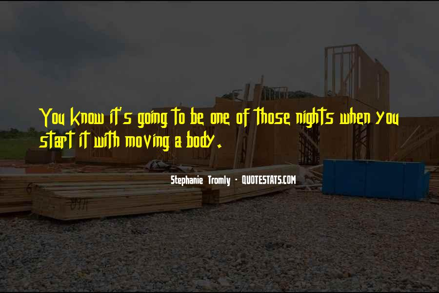 To Those Nights Quotes #575678