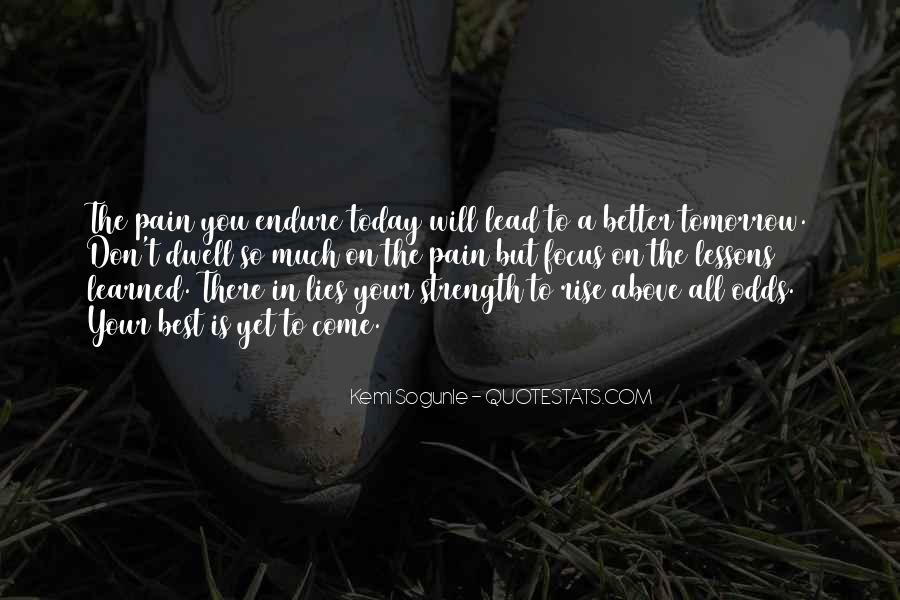 Today Best Inspirational Quotes #1540725