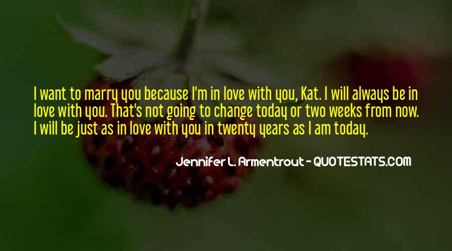 Today I Marry Quotes #1460426