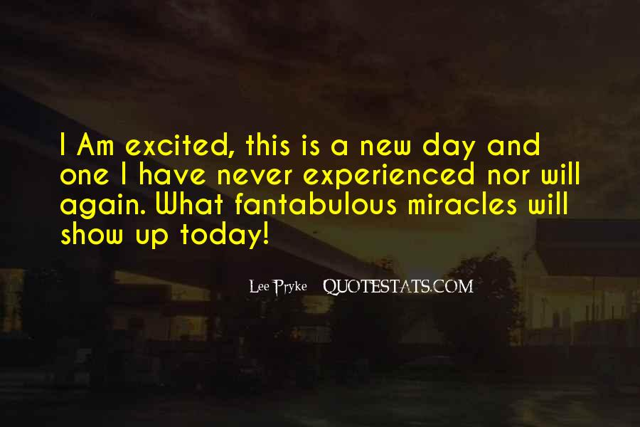 Today I Will Quotes #10796