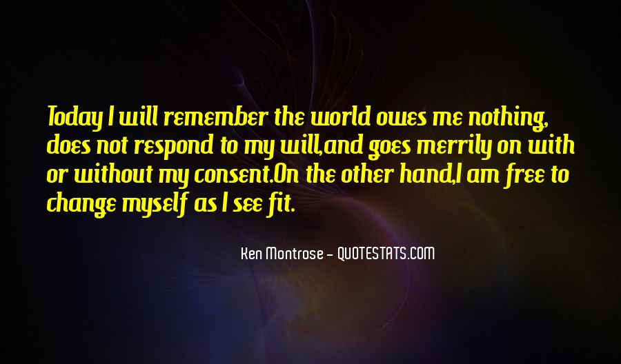 Today I Will Quotes #157766