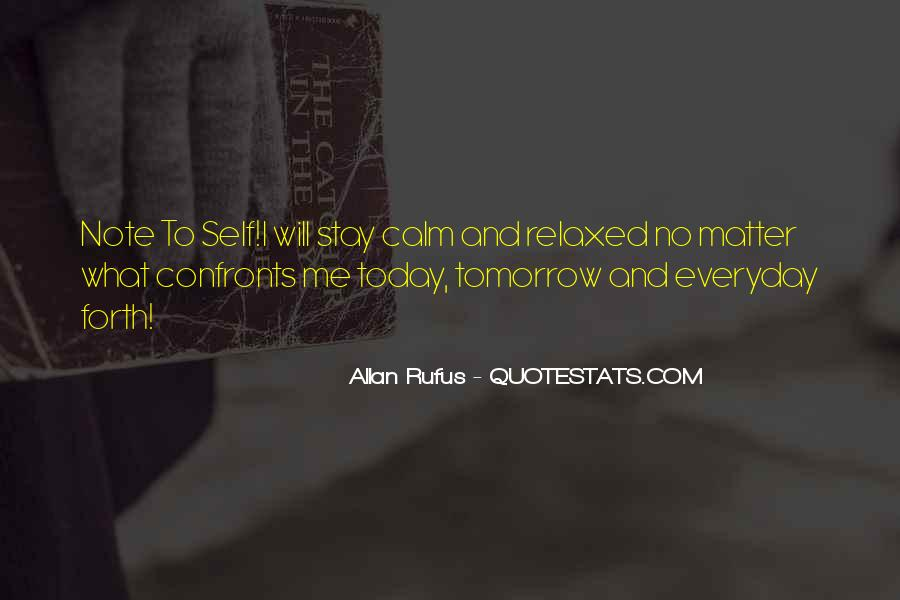 Today I Will Quotes #191134