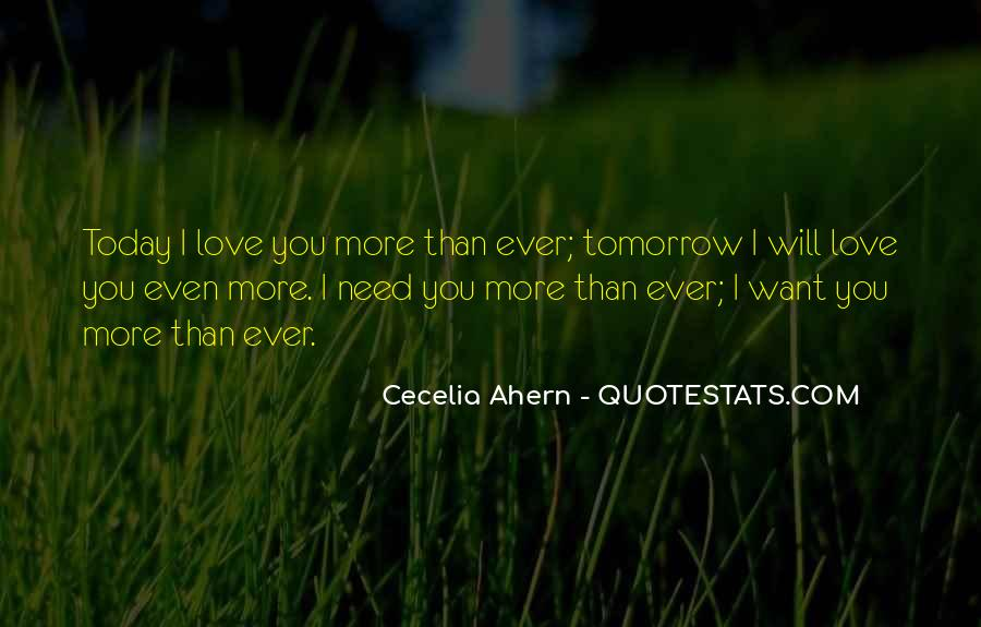 Today I Will Quotes #23820