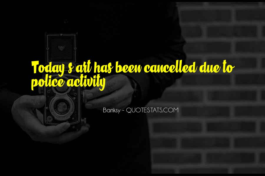 Today Is Cancelled Quotes #94202