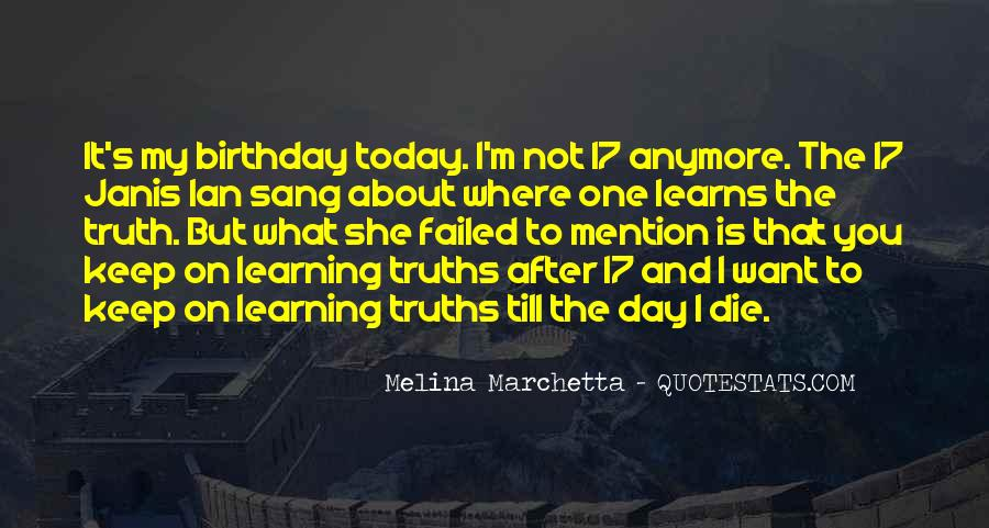 Today Is Your Day Birthday Quotes #1226279