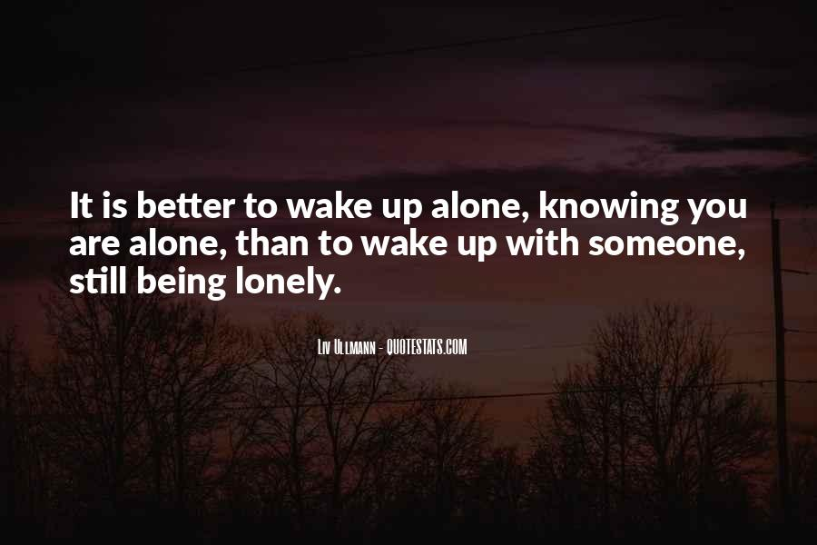 Together But Lonely Quotes #1153751