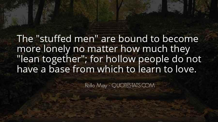 Together But Lonely Quotes #1630627