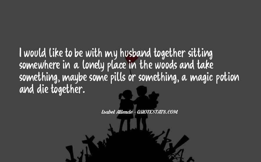 Together But Lonely Quotes #1868145