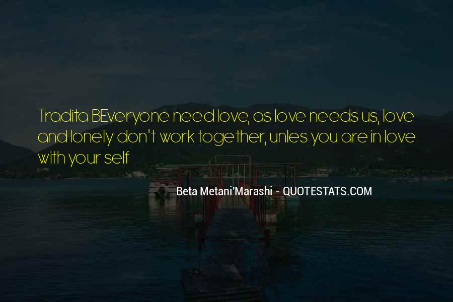 Together But Lonely Quotes #465566