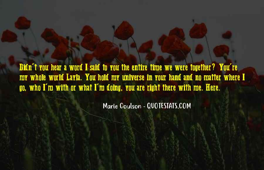 Together No Matter What Quotes #382057