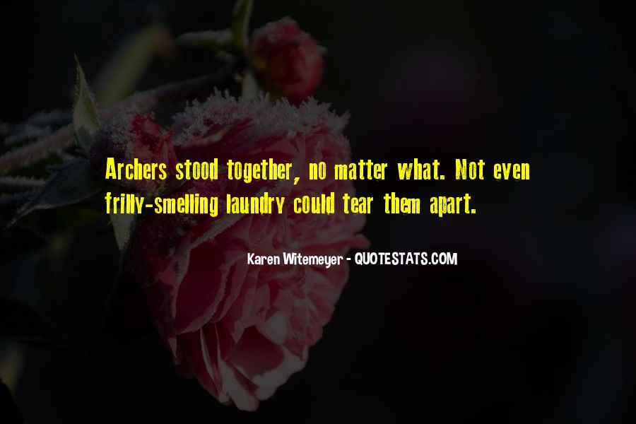 Together No Matter What Quotes #817825