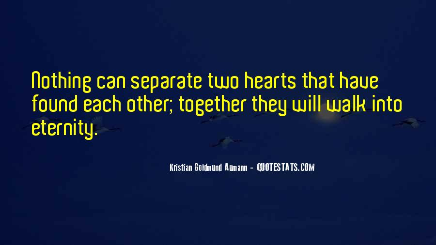 Together Till Eternity Quotes #359462