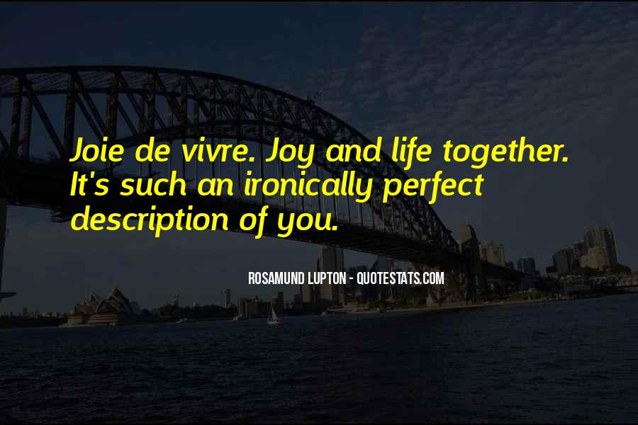 Together We Are Perfect Quotes #128638