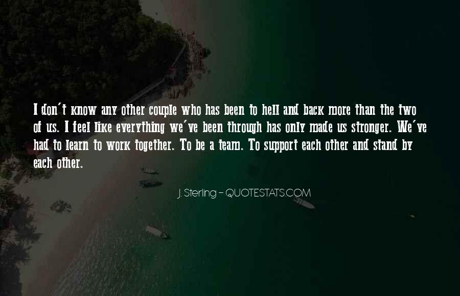 Together We Are Perfect Quotes #416605