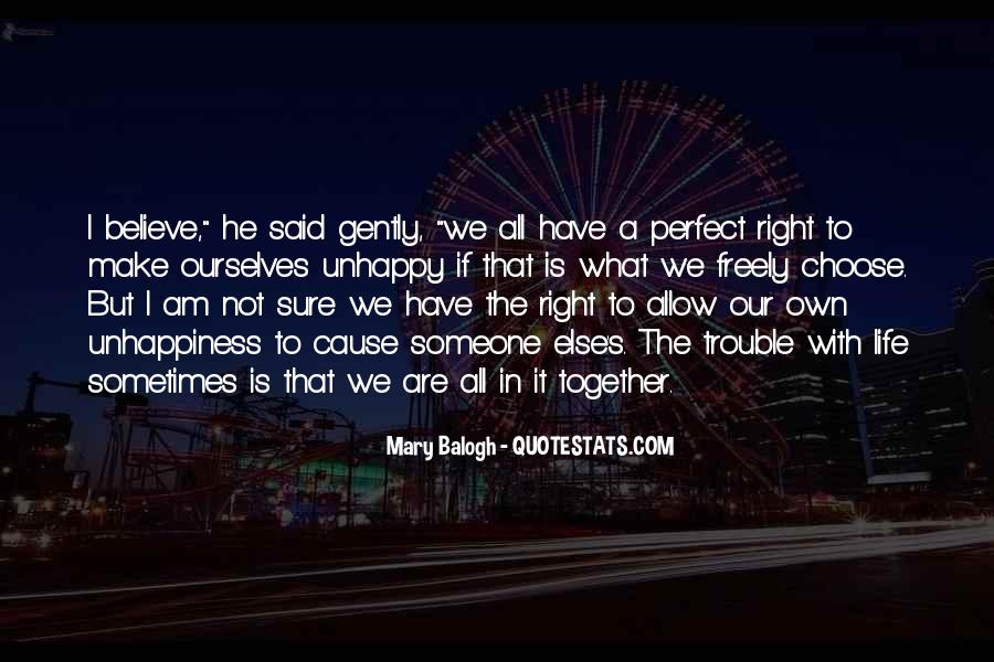 Together We Are Perfect Quotes #715483